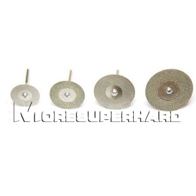 Diamond rotary cutting disc, mini discs