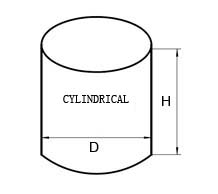 cylindrical PCD polycrystalline diamond