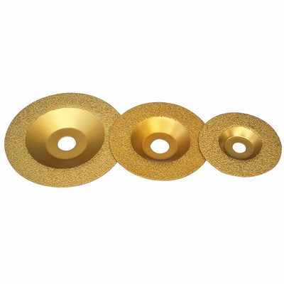 vacuum brazed diamond grinding wheel