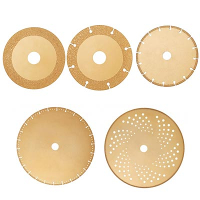 vacuum brazed diamond saw blades