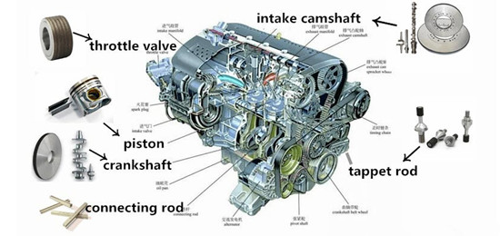 automotive engine machining