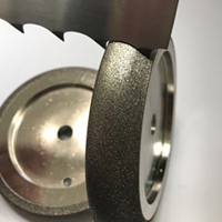 CBN grinding wheel for band saw