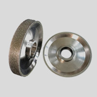 electroplated diamond wheel for rubber tire grinding