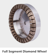 full segment diamond glass wheel