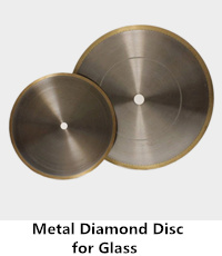 metal diamond disc for glass cutting