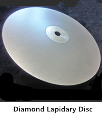 diamond lapidary disc
