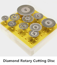 diamond rotary cutting disc